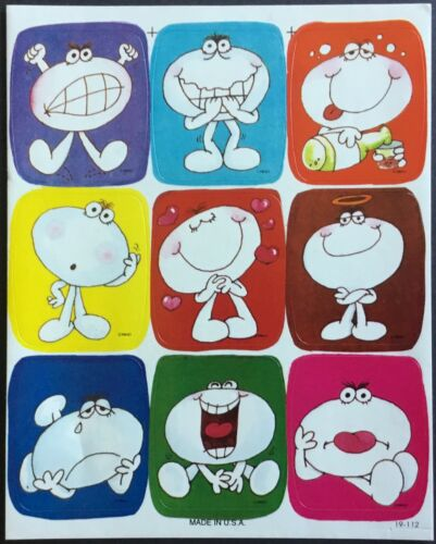 Drawing Board Mint Condition!! Vintage Stickers Perk Ups