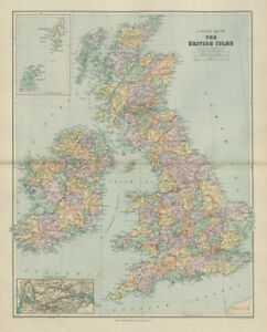 County-map-of-the-British-Isles-England-Ireland-Scotland-Wales-STANFORD-1904