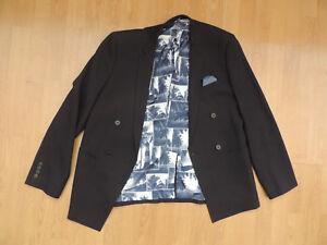 Jacket Mens Palm London G8 Bros Blazer Slim b8 40 Uk Lining Fit Black Tree Moss CqRqw0fxa