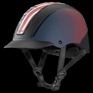 Nuevo Troxel espíritu Rojo blancoo y Azul libertad Equitación Casco medio sombrero tamaño 7-7 8 8