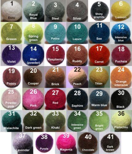 /> mélange de couleurs ou Choisir Chaque Balle Felt Balls 1,5 cm x 500 Pieces