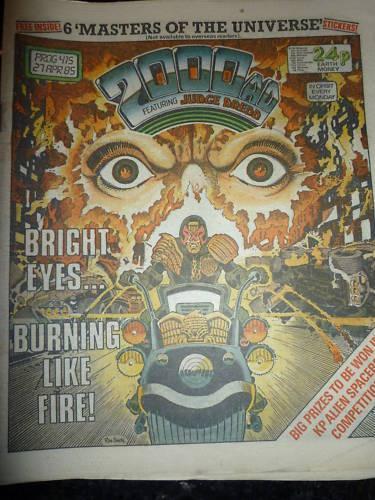 UK PAPER COMIC PROG 415 2000 AD Comic Date 27//04//1985