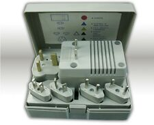 Travel Voltage Converter Transformer Kit Plug Adapters