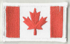 CANADA SMALL CREST FLAG WORLD EMBROIDERED PATCH BADGE