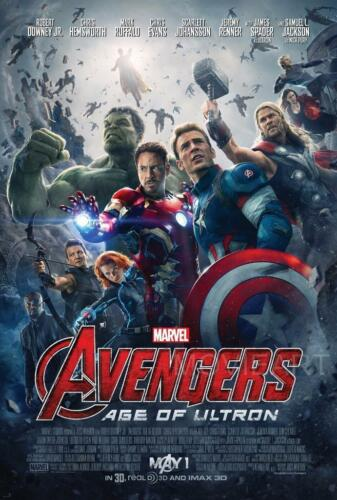 AVENGERS AGE OF ULTRON MOVIE POSTER FILM A4 A3 ART PRINT CINEMA
