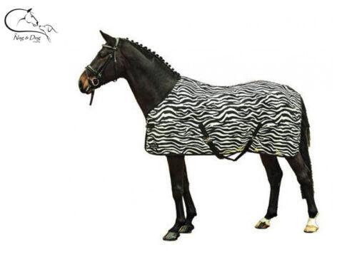 HKM Standard col zebra tapis FLY avec queue Rabat Toutes Tailles LIVRAISON GRATUITE