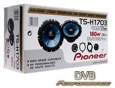 """Pioneer TS-H1703 17cm 6.5"""" Custom Fit Car 2 Way Component Speakers 1 Pair"""
