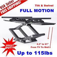 Full Motion TV Wall Mount 32 39 40 42 50 55 60 65 70 for Samsung Vizio LG Sony