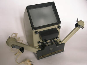 Super 8mm movie / cine film editor control projector screen Kupava-s8