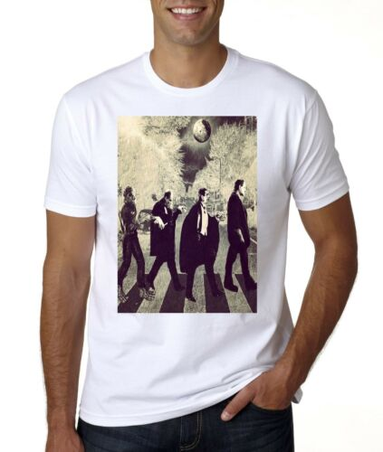 Horreur Halloween Abbey Road moster T-Shirt