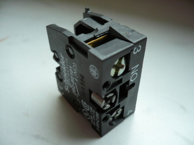 Schneider Electric interruttore ausiliario zb2be101 1s
