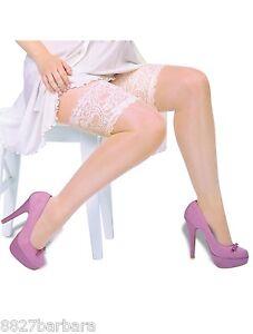 Plus-Sz-18-32-Bridal-Wedding-Stockings-Holdups-Thigh-High-Stayups-Made-in-Europe