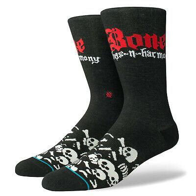 OUTKAST STANCE ANTHEM Crew Socks Large 9-12 Black Big Boi Andre Stankonia NEW