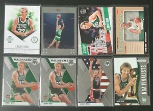 Lot-8-Larry-Bird-Collection-Panini-Prizm-Mosaic