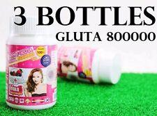 3 NANO GLUTA Pills 800000 μg. SUPER ACTIVE WHITENING SKIN GLUTATHIONE VIT C
