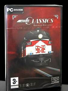 Details about TRAINZ CLASSICS RAILROAD SIMULATION GAME NEW FOR PC ITALIAN  EDITION PG539