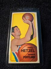 1970 Topps Fred Hetzel #79 Basketball Card
