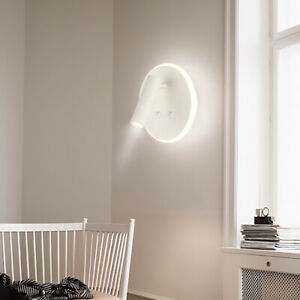 Details About Wall Sconce Led Light Fixture Ambient Reading Lamp 10w Round Bedroom Spotlight