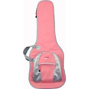 Gator-Cases-Gig-Bag-for-Bass-Guitars-PINK-Guitar-Case