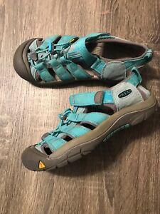 KEEN-Newport-WATERPROOF-Sport-Sandals-Green-Youth-Boys-Girls-Size-US-4Y