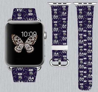 Star Wars Apple Watch Band 38 40 42 44 mm IWatch Handmade