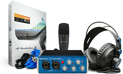 Pro Audio Equipment Presonus Ab96studio Audiobox 96 Studio Interface Package Free Shipping To Produce An Effect Toward Clear Vision