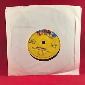 JEFF-LYNNE-Doin-039-That-Crazy-Thing-1977-USA-DEMO-vinyl-single-EXCELLENT-COND-ELO