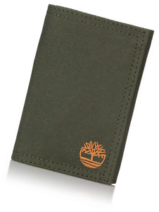 9595f9c8dceb Image is loading Timberland-Men-s-Trifold-Nylon-Wallet-With-Velcro