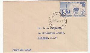 Australia-AAT-1957-2-FDC