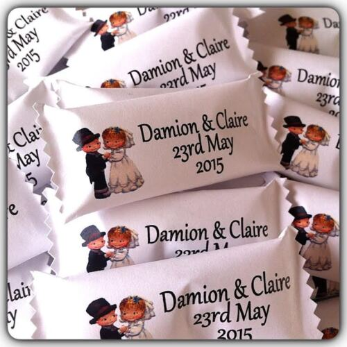 50 x Personalised Sweets Wedding//Engagement//Anniversary