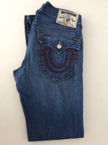 Denim True Mens Mid Vgc Jeans W32 Blue Religion ZUqwv6