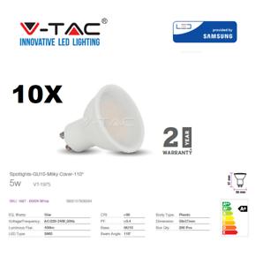 LED-GU10-5W-Spotlight-320Lm-Cool-White-10pcs-pack-by-V-TAC
