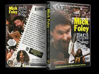 Wwe Mick Foley Hard Knocks & Cheap Pops Brand Sealed Wwe Dvd