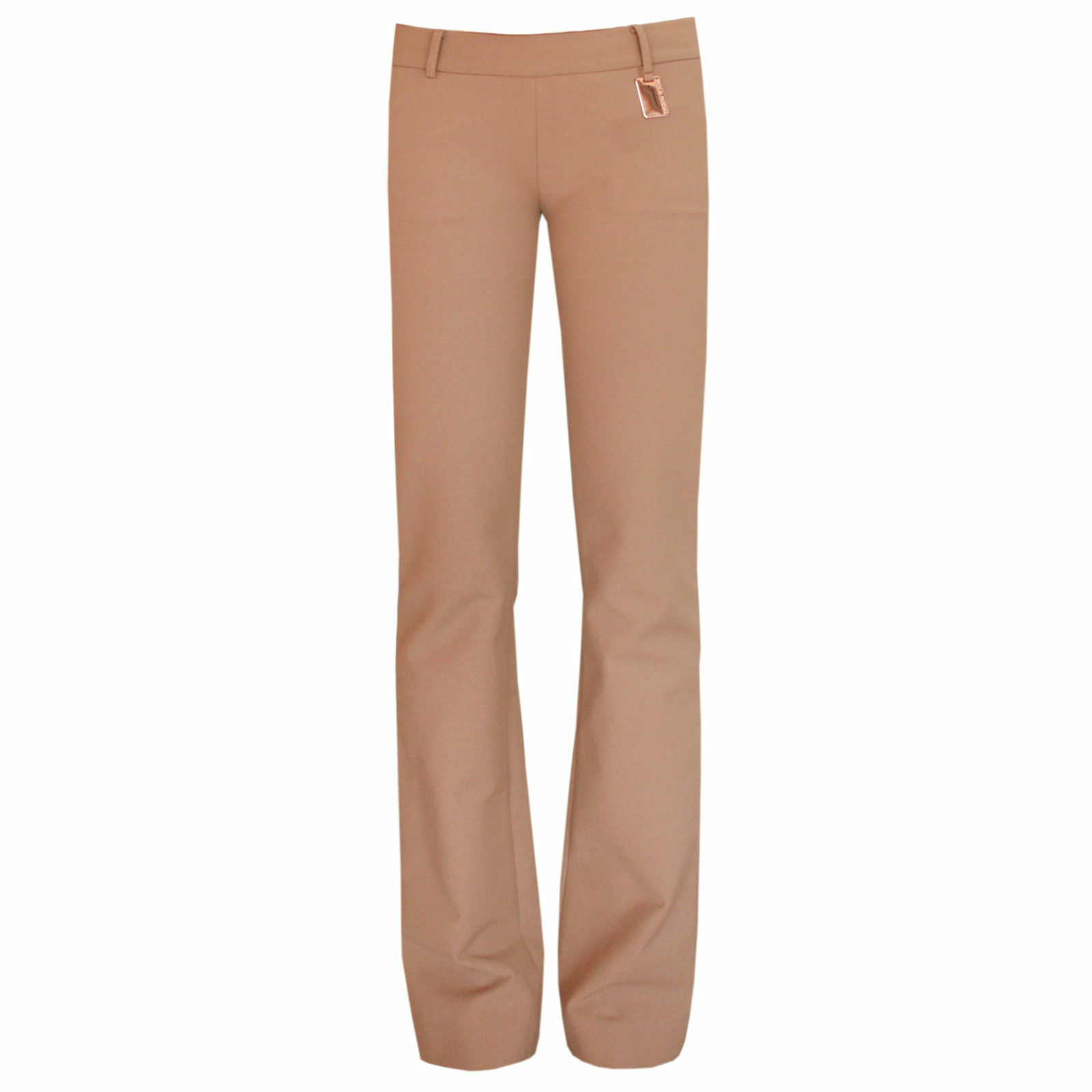 THOMAS WYLDE ,225 fitted straight leg Running Pants light brown trousers 2 NEW