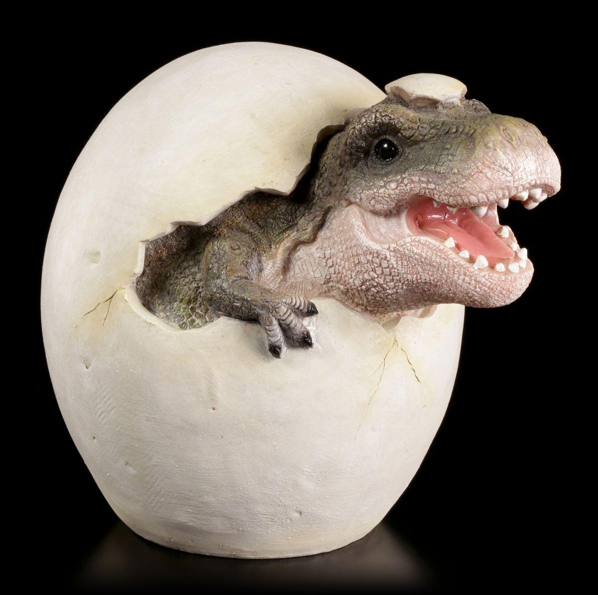 Tyrannosaurus rex Statua da giardino DINOSAURI scivola - T-Rex DECORATIVA