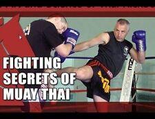 Fighting Secrets of Muay Thai (3) DVD Set with BOB CARVER