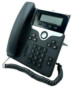 Cisco CP-7811-K9 7800 Series IP VOIP Phone - TESTED w/ STAND + WARRANTY!!