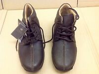M&s Collection Leather Shoes With Airflex Total Comfort Size: 7.5