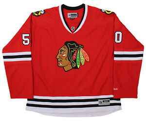 4db7d1aa981 Image is loading Reebok-NHL-Chicago-Blackhawks-Corey-Crawford-50-Womens-