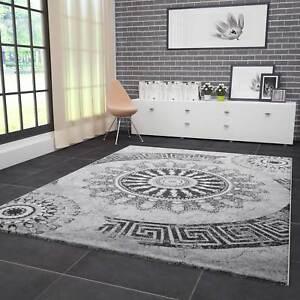 Das Bild Wird Geladen Wohnzimmer  Teppich Modern Hohe Qualitaet Meliert Medallion Muster