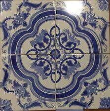 Ceramica Vietri Piastrelle 20x20 Dec. In Serigrafia A Mano 1 Mq. Consegna 7 Gg
