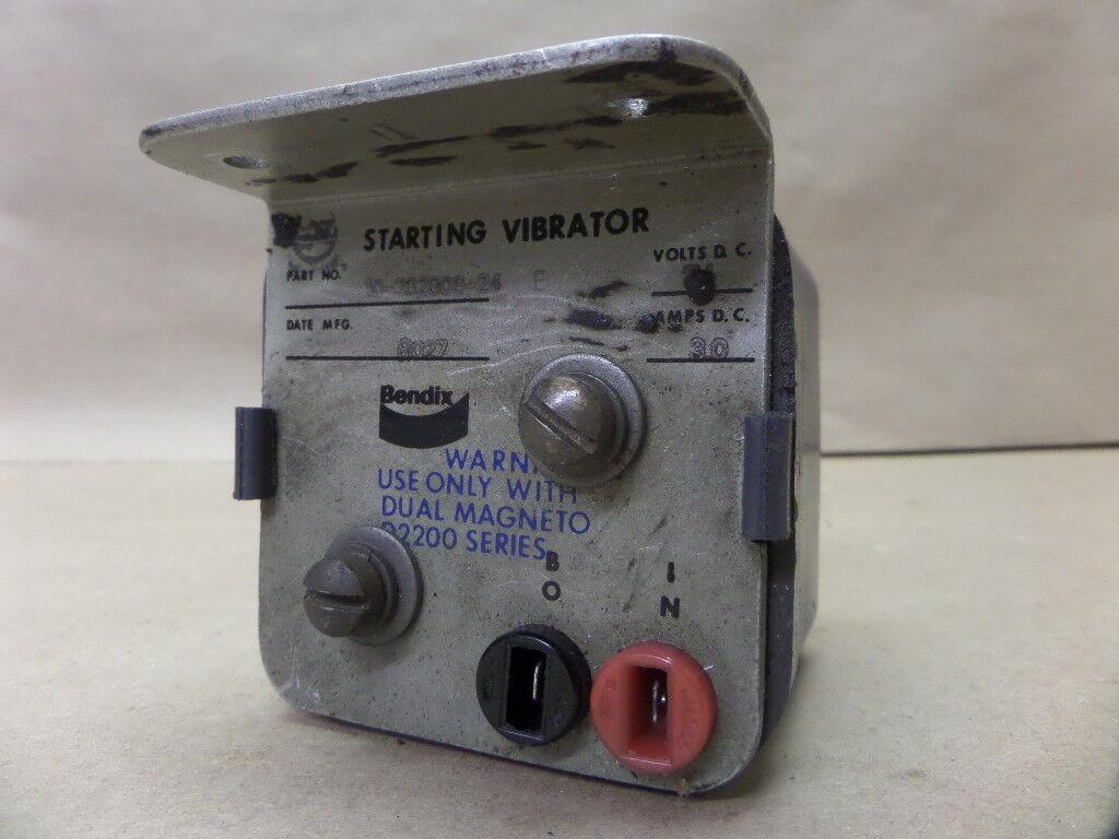 1973 Piper PA-31-350 Navajo  eftain Bendix Starting Vibrator 10-382808-24 24V