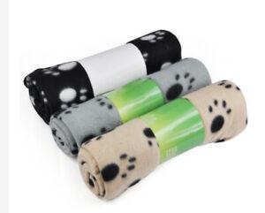 Large Fleece Dog Blanket Set Of 3 Blankets
