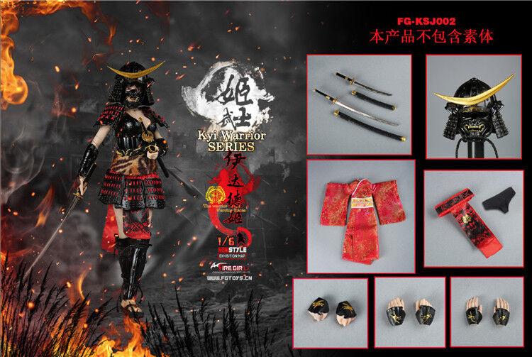 In magazzino  Fire Girl giocattoli 1 6 FG-KSJ001 - Guerriero Giapponese Donna eadda tokuhime  servizio onesto
