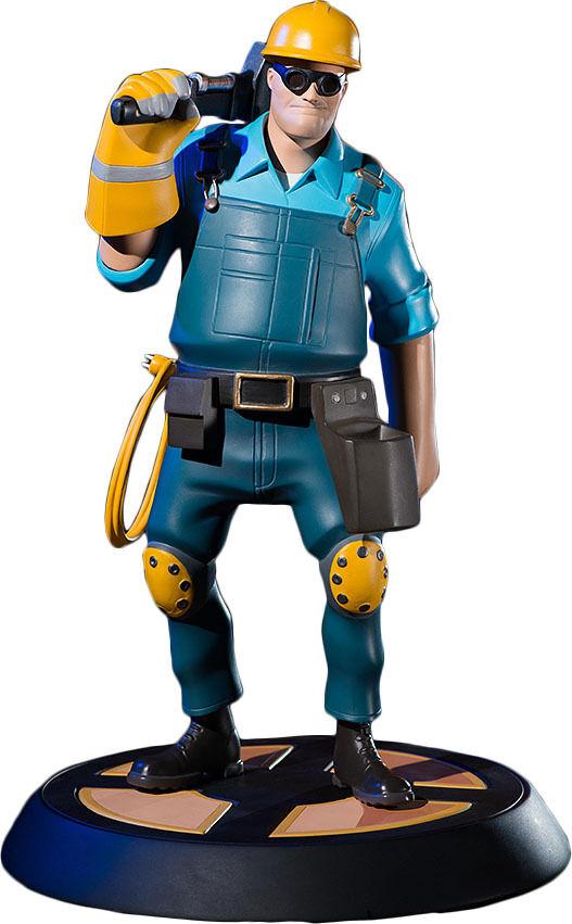 venta al por mayor barato Team Fortress 2-el ingeniero 13 13 13  estatua azul (Juegos Cabezas)  NEW  hermoso