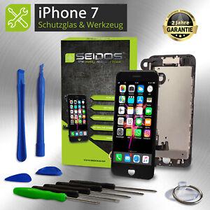 Display-fuer-iPhone-7-mit-RETINA-LCD-Glas-VORMONTIERT-Komplett-Front-SCHWARZ-NEU