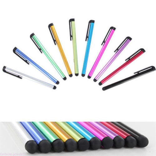 5//10Pcs Metal Capacitive Touch Screen Stylus Pen For Smart Phone Ipad Tablet PC