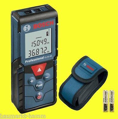 BOSCH Laser-Entfernungsmesser GLM 40  -ohne OVP- 0601072900