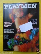 magazines playmen 1981 minnie minoprio henry miller hugo pratt mimmo cattarinich