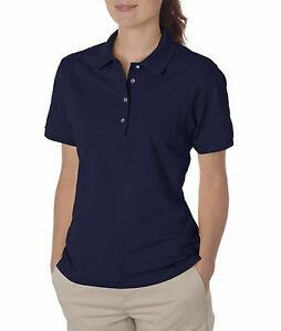 Jerzees Women's SpotShield Short Sleeve Solid Polo Shirt  437W